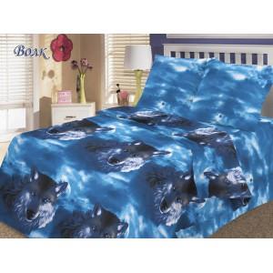 Комплект постельного белья Волк